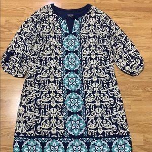Luxology Damask Dress